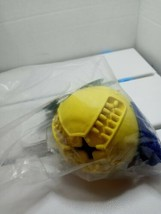 Petest Dog Toy Treat Ball W/ Rope for Training and Cleaning Teeth New Se... - $12.86