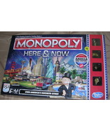 Monopoly Here & Now Board Game-Complete - $18.00