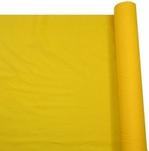 Vibrant Yellow Plain Polycotton Fabric Material 2 Sizes - $4.96+
