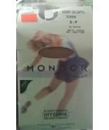 Ice Skating TIGHTS - Mondor footed 3395 - Adult Small Petite 82 Suntan M... - $13.28
