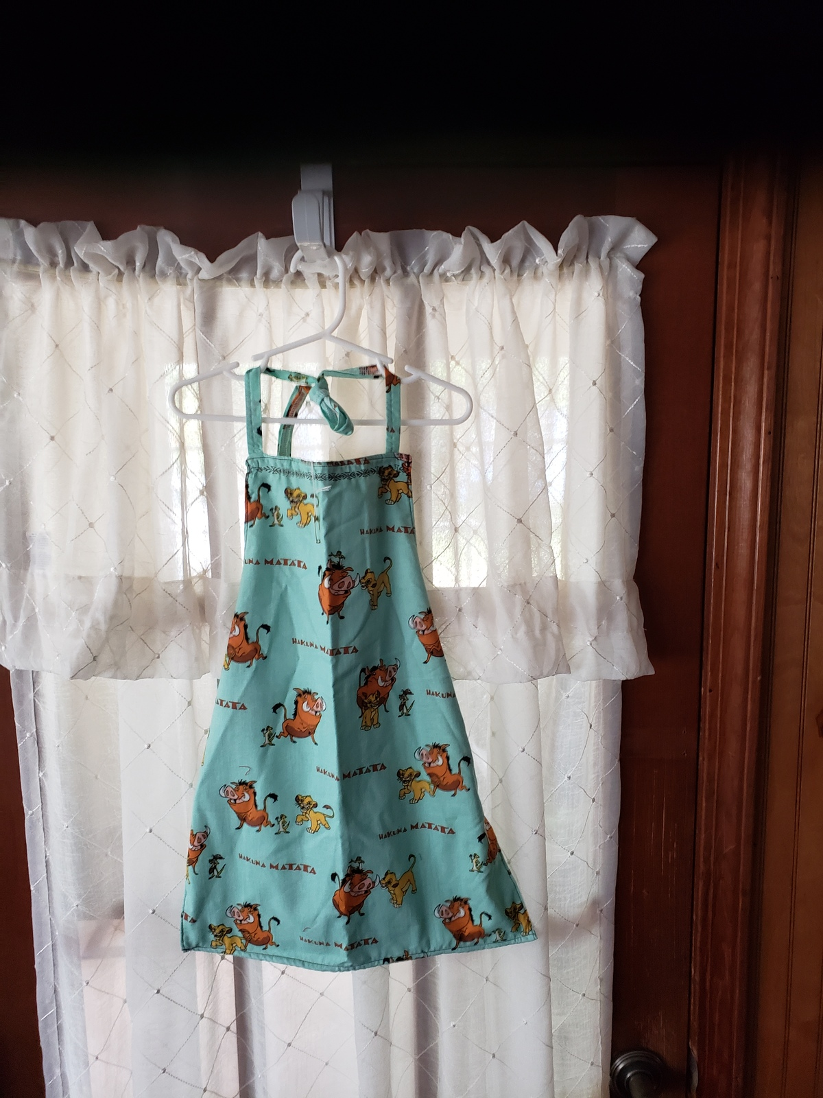 Lion King Child's Cotton Apron Lined - Child Small (2T - 4T)  - $12.99
