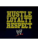 John Cena WWE Hustle Loyalty Respect Logo Wrestling T-Shirt Size LARGE U... - $14.50