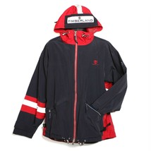 TIMBERLAND Men's Size Large Lightweight Jacket - Sport Series Navy Red Silver   - $33.87