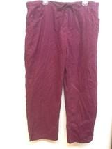 NEW Womens PURPLE Wine HEALING HANDS 9044P Scrub Pants Kimberly Pant Pet... - $23.95
