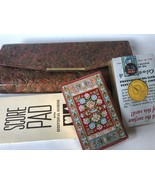 Vintage Two Decks Poker Unused Playing Cards & Score Pad With Case U.S. ... - $28.00