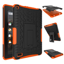 """Rugged Hybrid Protective With KickStand Case For Amazon Fire 7"""" 2015 - O... - $18.98"""