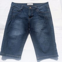 Baby Phat Fashions Silver Label Denim Capri Jeans Women's Juniors Size 9 - $12.30