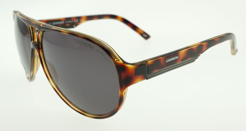 Carrera 12 Havana / Grey Sunglasses 12/S V08 - $87.71