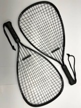 Two (2) HEAD CPS Crystal Power System Racquetball Racquets, 3-5/8 Grip, Black - $14.75