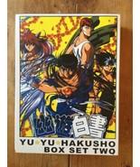 Yu Yu HAKUSHO Box Two  DVD Set Series ANIME - 6 Discs Mint - $20.90