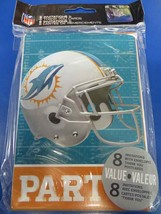 Miami Dolphins NFL Pro Football Sports Party Invitations & Thank You Notes - $10.66
