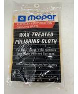 Vintage Chrysler MOPAR Wax Treated POLISHING CLOTH New 4318012 - $9.74