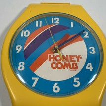 Vintage Post Honeycomb Cereal Clock Wristwatch Wall No Bands Works - $49.99
