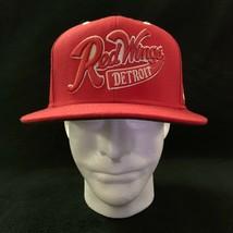 Detroit Red Wings NHL Reebok Snapback Face Off Headwear Hat Wool Embroid... - $15.83