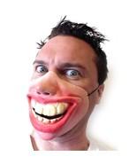 Big Teeth Face Party Mask Halloween Fancy Half Scary Cosplay Latex Funny... - $7.69