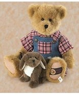 "Boyds Bears ""Chester & Fido"" #918147SM- 14"" Plush Bear- BBC Exclusive- N... - $69.99"