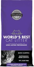 World's Best Cat Litter Lavender Scented Multiple Cat Clumping Formula, ... - $35.60