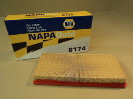 Napa Wix Air Filter Premium Orange/White Gold 6174 - $12.07