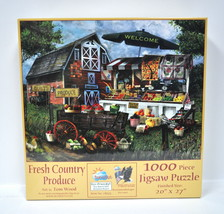 Fresh Country Produce Jigsaw Puzzle 1000 Piece - $19.76