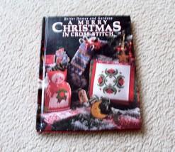 Cross Stitch Pattern Book - A Merry Christmas In Cross Stitch - 1994 - $8.99