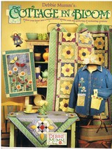Cottages in Bloom by Debbie Mumm Quilt Craft Sewing Pattern Book - $11.00