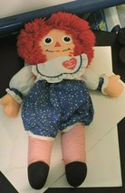 """Vintage 1992 Raggedy Ann Heart To Heart Doll By Playskool 17"""" Collectible - $24.70"""
