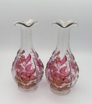 Westmoreland, Wine Decanter, Flower Vase, Rose & Lattice, RL-6, c. 1960's - $26.00