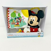 Disney Baby Stroller Toys & Book Gift Set Mickey Mouse 0+ Month Baby Sho... - $14.95