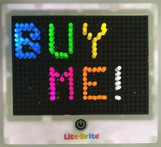 Hasbro Travel Lite- Brite with 4 Light Effects Family Fun  - $29.65