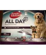 Simple Solution 6-Layer All Day Premium Dog Pads, 23 x 24, Lavender 100 ct  - $37.39