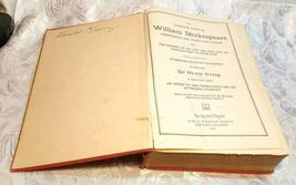SHAKESPEARE COMPLETE WORKS ~ History, Life & Notes (1927 Hardcover Book) image 6