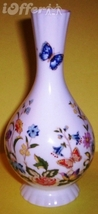 "ENGLISH STAFFORDSHIRE- AYNSLEY COTTAGE GARDEN VASE  6 1/4"" - $17.45"