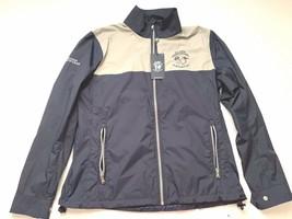 NEW Polo Ralph Lauren Nylon Golf  Zip Jacket Navy Gray Jacket w/Logo  Sz... - $24.30