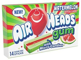 Airheads Candy Sugar-Free Chewing Gum with Xylitol, Watermelon, Stocking Stuffer - $21.00