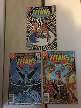 The New Teen Titans 27 28 31 1983 VF Condition DC Comic Book Lot 3 Georg... - $5.39