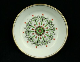 Vintage Royal Worcester Bone China Made in England Round Pin Tray Enamel Jewels - $20.43