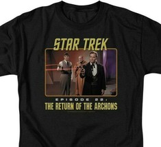Star Trek T-shirt Episode 22 Return of the Archons Sc1-Fi TV graphic tee CBS388 image 2