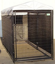Outdoor Dog Kennel Shade Wind Screen Cover for Cage House Pet Dog Cat Sh... - $81.08