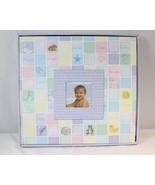 Baby Photo Memory Scrapbook 12x12 Album & Stickers Kit Thompson Products... - $14.84