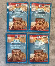 4x McCormick Good Morning Slow Cooker Breakfast Mix Apple Cinnamon French Toast - $14.99
