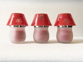 Chesapeake Bay Candle Spiced Apple Hand Poured Frosted Mini Lamp Set - $25.00