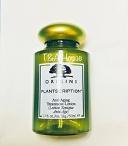 NEW ORIGINS PLANTSCRIPTION ANTI-AGING TREATMENT LOTION 1.7 oz 50ml - $12.99