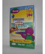 Barney Birthday Party Colorforms Play Set 1997 New Sealed Ages 3 & Up (G) - $22.76