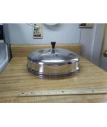 "Stainless steel 12"" domed lid - $23.70"