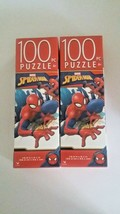 Marvel Spider-Man Jigsaw Puzzle 100 pieces, 2 Pack - $16.00