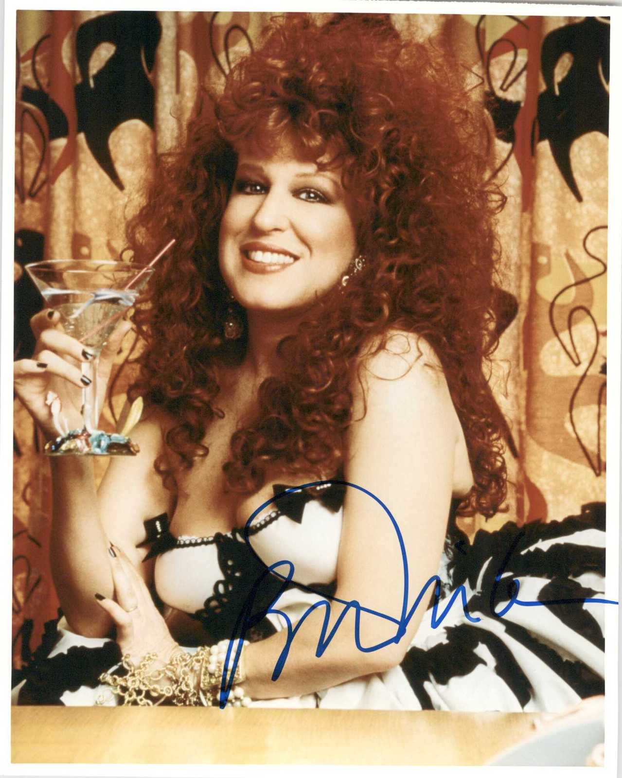 Primary image for Bette Midler Signed Autographed Glossy 8x10 Photo