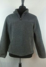 Timberland mens gray ziiper jacket coat  size S/P - $23.99