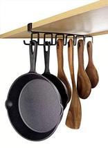 12-Hook Iron Under Cabinet Mug Hanger Brown image 8