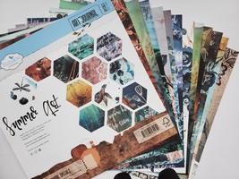 Summer Art Design Card Stock. 12X12 Double Sided.  Elizabeth Craft Designs.  image 2