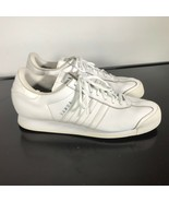 Adidas Samoa women's Size 11, Athletic Casual Sneakers Shoes White - $22.77